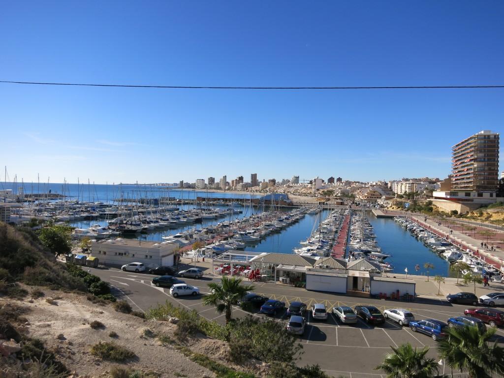 Puerto deportivo desde la Torre de l'Illeta, El Campello