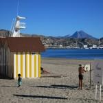 El Campello, paseo marítimo y Baños de la Reina