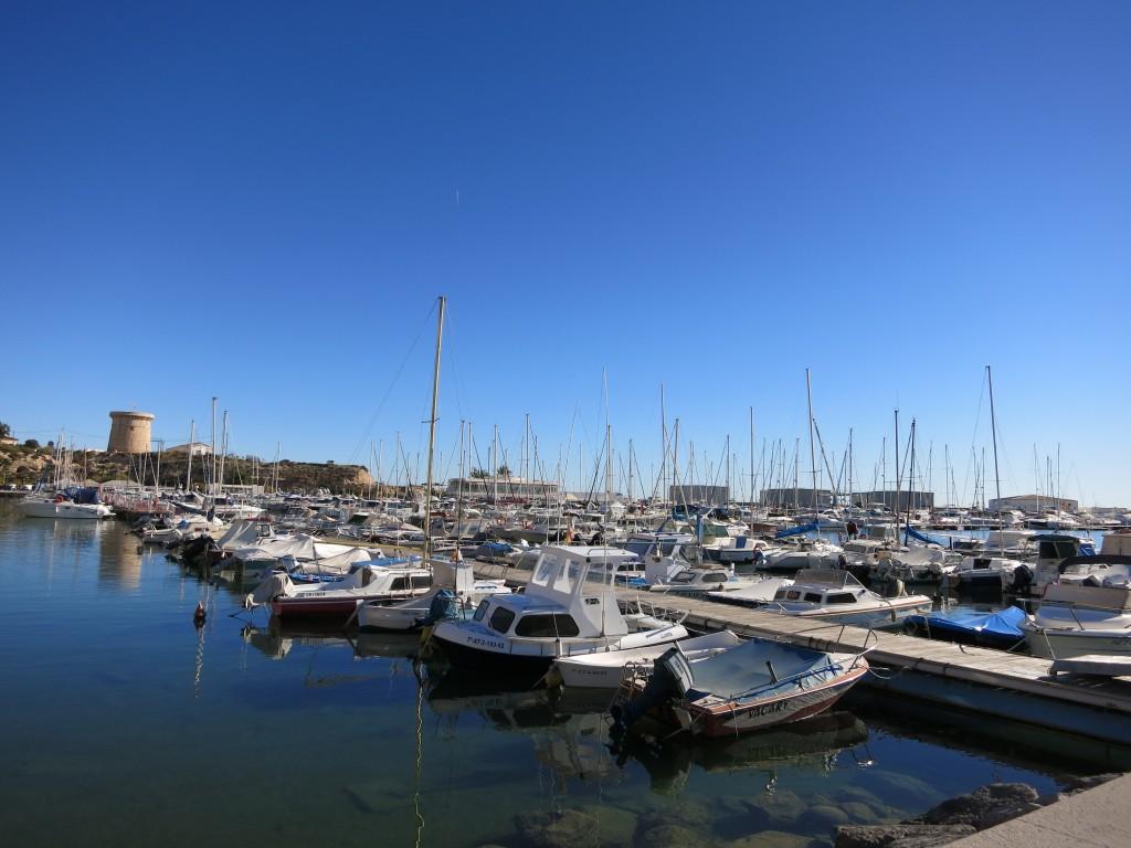 Puerto deportivo y Torre de l'Illeta, El Campello