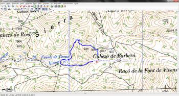 Track Font de Vivens