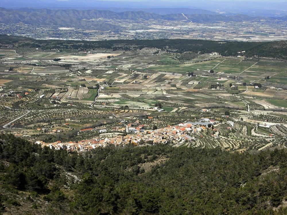 Vistas desde la Serra de Mariola